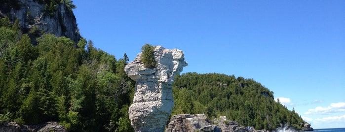 Flowerpot Island is one of Hikes and Campgrounds To-Do.