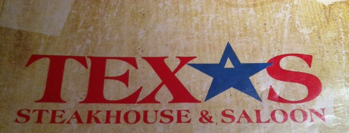 Texas Steakhouse & Saloon is one of Locais curtidos por Jorge.