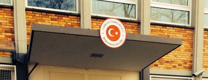Türkisches Generalkonsulat is one of Orte, die Ramazan gefallen.