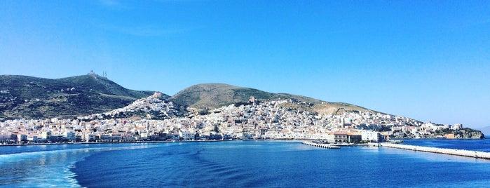 Syros Port is one of Marie 님이 좋아한 장소.