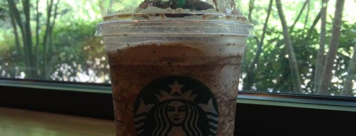 Starbucks is one of สถานที่ที่ Wade ถูกใจ.