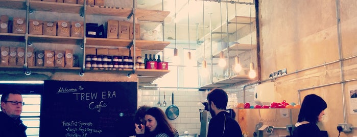 Trew Era Cafe is one of Hackney, London.