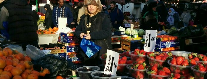 Ridley Road Market is one of London Markets.