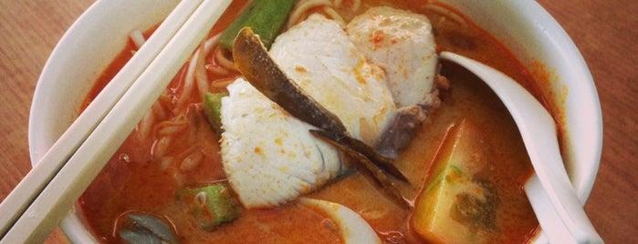 Eupe curry mee is one of Tempat yang Disukai Alyssa.