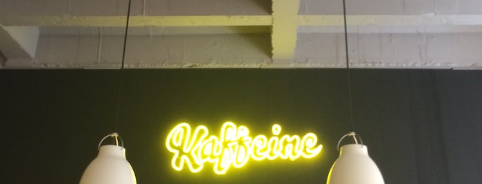 Kaffeine is one of Best Coffee Places.