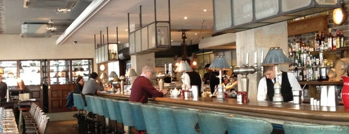 The Riding House Café is one of An Aussie's fav spots in London.
