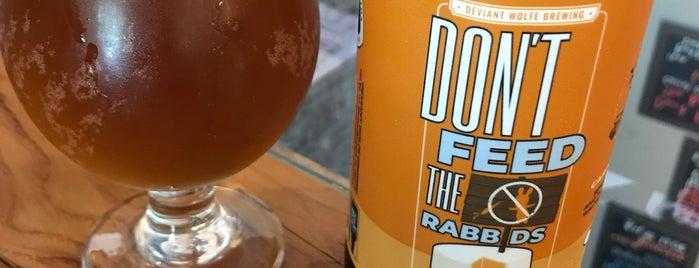 Deviant Wolfe Brewing is one of Lisa'nın Beğendiği Mekanlar.
