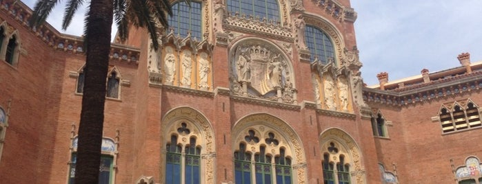 Recinto Modernista de Sant Pau is one of Barcelona.