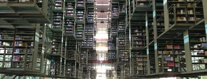 Biblioteca Vasconcelos is one of Mexico City.