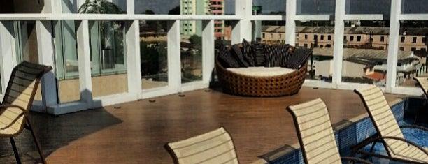 Oscar Hotel - Porto Velho,RO is one of Orte, die Sergio gefallen.