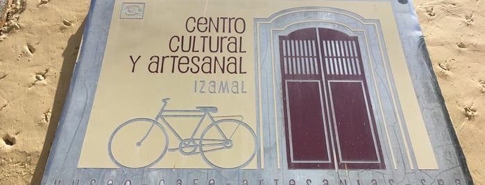 Centro cultural y artesanal Izamal is one of IZAMAL.
