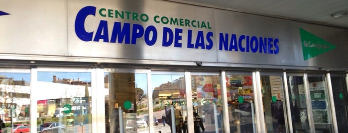 Hipercor Campo de las Naciones is one of Compras.