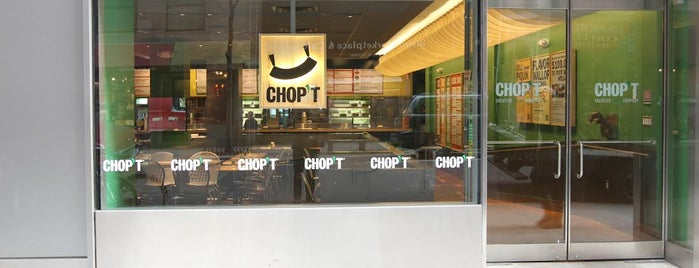 CHOPT is one of Lugares favoritos de Karen.