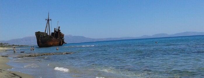 Καραβι Beach Γυθειο is one of Need fixing.