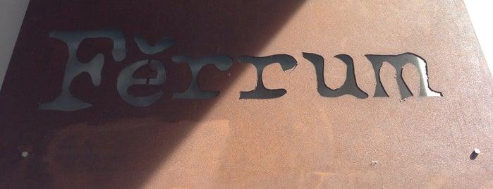 Ferrum is one of Restaurants.