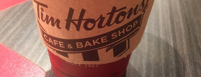 Tim Hortons is one of Adam's Liked Places.