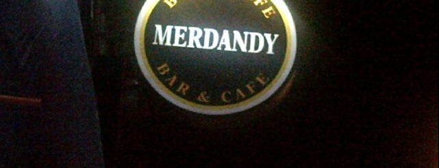 Merdandy Bar & Cafe is one of Cynner'in Beğendiği Mekanlar.