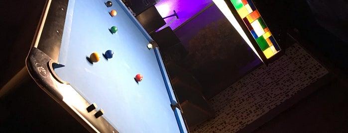Afterhour is one of Billiard.