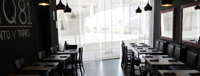 IQ81 Restaurante Bar is one of Lugares pendientes por vistar.