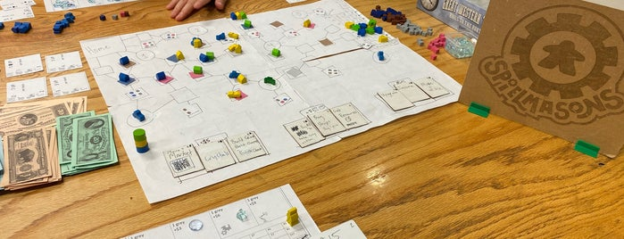 Spielbound is one of Board Game Cafes.
