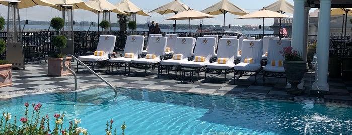 Market Pavillion Pool is one of Charleston.