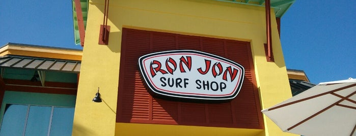 Ron Jon Surf Shop is one of Tempat yang Disukai David.