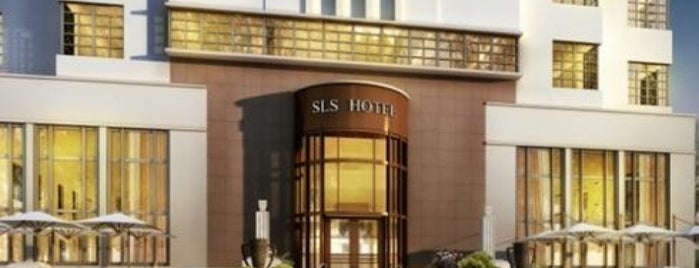 SLS Hotel South Beach is one of Miami Music Week 2014.