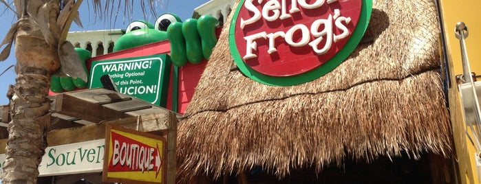 Señor Frog's is one of Lieux qui ont plu à Marisa.