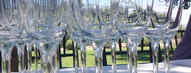 Domaine Chandon is one of Napa Valley Favorites.