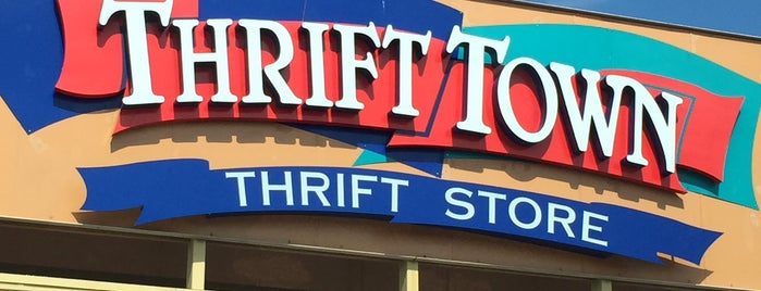 Thrift Town is one of Thrifting.