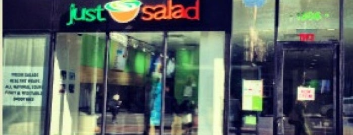 Just Salad is one of Lieux qui ont plu à Mark.