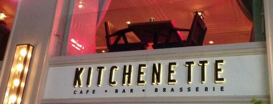Kitchenette is one of F.