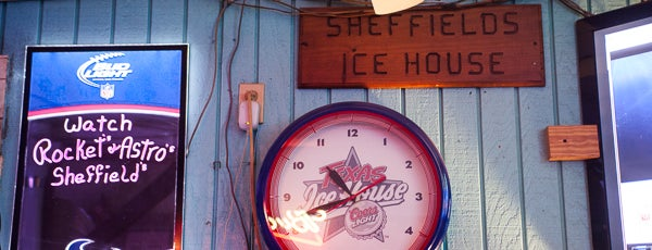 Sheffields Ice House is one of Bars.