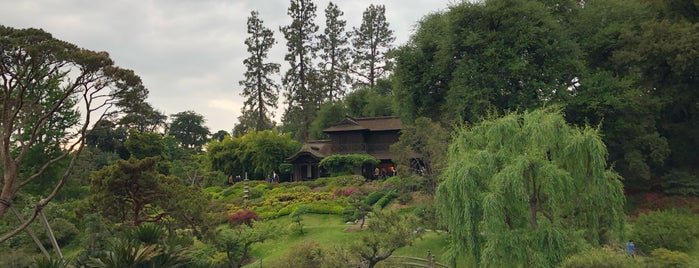 Tea House, Japanese Garden is one of JNETs Hip and Happy LA Places.