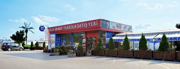 Halk Ekmek Fabrika Satış Mağazası is one of สถานที่ที่ İsmail ถูกใจ.