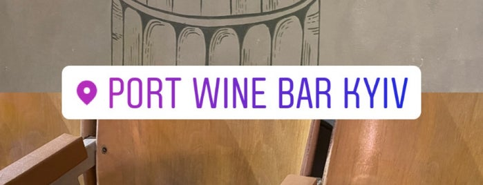 Port. Wine Bar is one of To check out.
