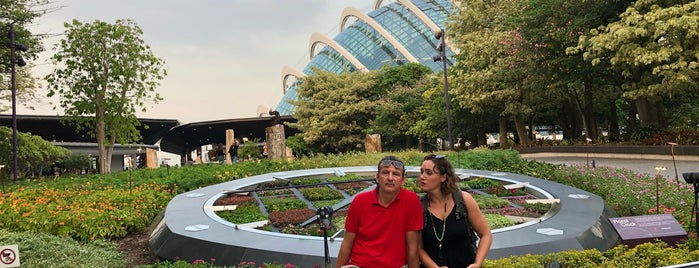 Gardens by the Bay is one of Lugares favoritos de Celal.