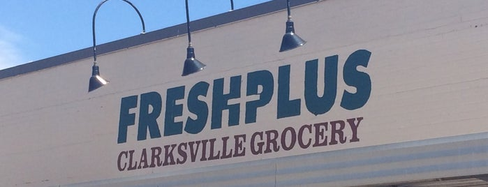Fresh Plus Grocery is one of My kind of shops.