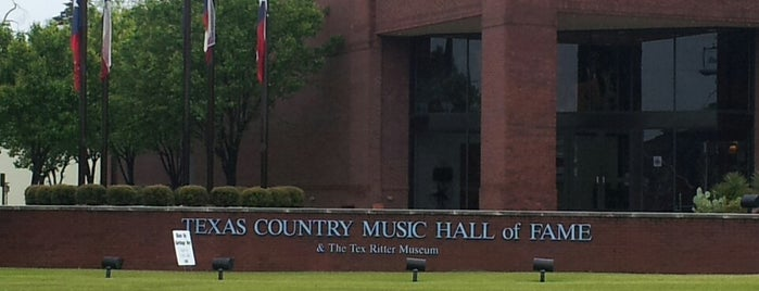 Texas Country Music Hall of Fame Museum is one of Texas.