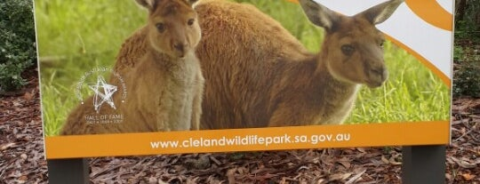 Cleland Wildlife Park is one of Adelaide.