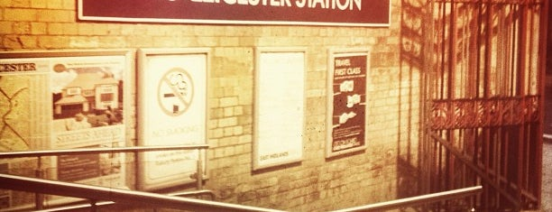 Leicester Railway Station (LEI) is one of You calling me a train spotter?.
