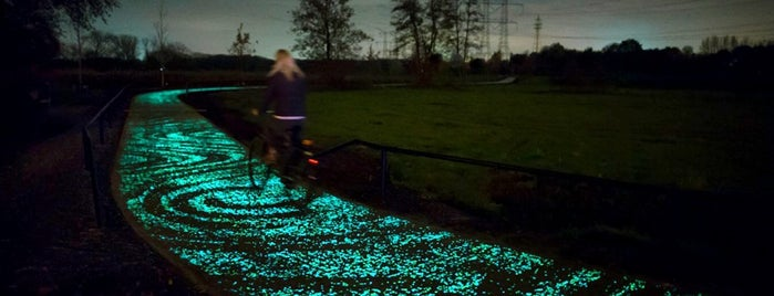 Van Gogh-Roosegaarde Cycle Path is one of if you're ever in ____.