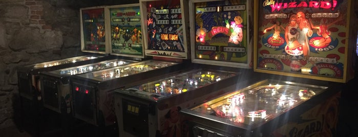 Kraków Pinball Museum is one of Краков.
