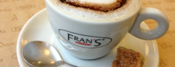 Fran's Café is one of Lugares favoritos de Guilherme.