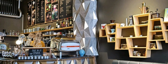 STRADA Tea & Coffee Studio is one of Riga.