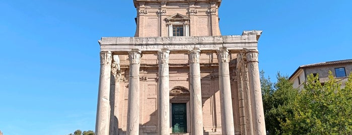 Temple d'Antonin et Faustine is one of Italy.