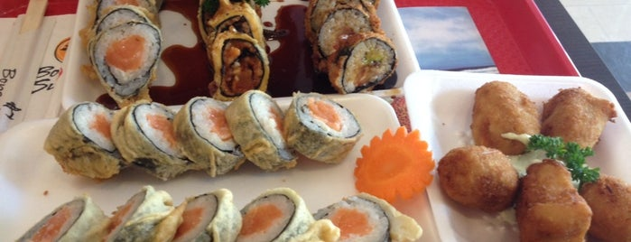 Bonsai Sushi is one of Lugares favoritos de Raiza.