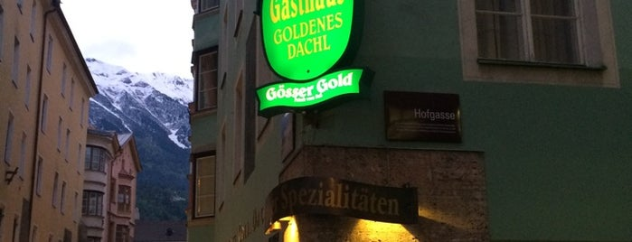 Gasthaus Goldenes Dachl is one of สถานที่ที่  Vadim ถูกใจ.