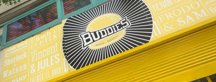 Buddies Burger is one of Budapeste.