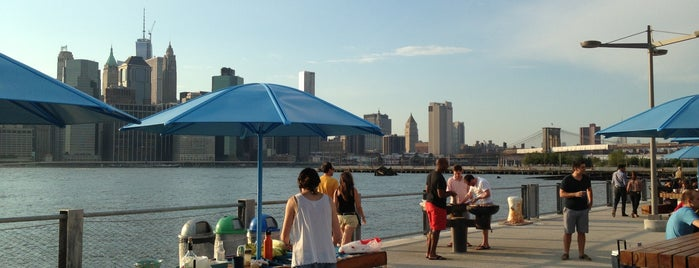 The Picnic Peninsula BBQ Area is one of NY.